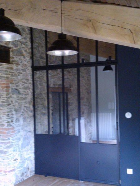 fabricant d 39 escalier garde corps verri re pour votre int rieur la forge des collines. Black Bedroom Furniture Sets. Home Design Ideas